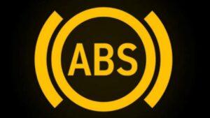 ABS fren sistemi ikaz lambası