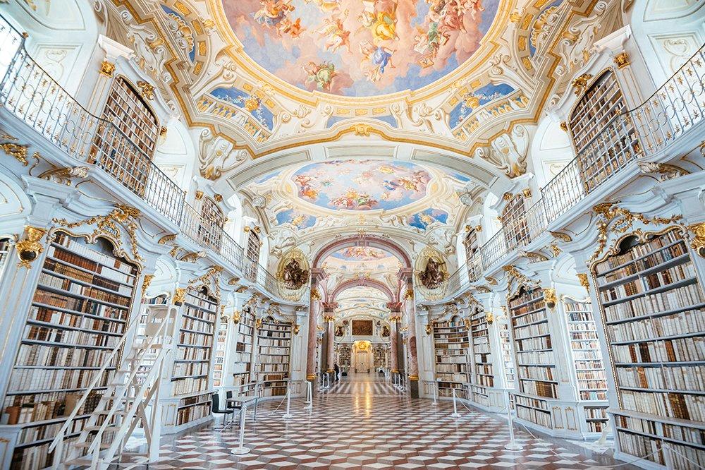 admont kütüphanesi