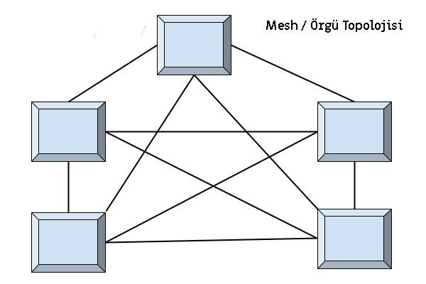 örgü topolojisi