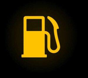 Yakıt miktarı ikaz lambası