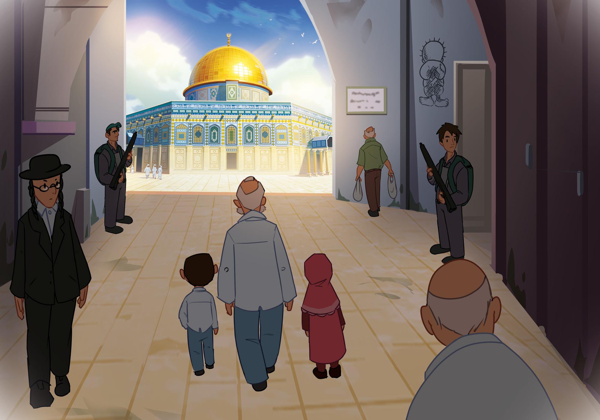 Sır - Bir Kudüs Macerası Konsept Çizim